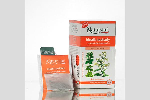 Naturstar - Ideális testsúly teakeverék