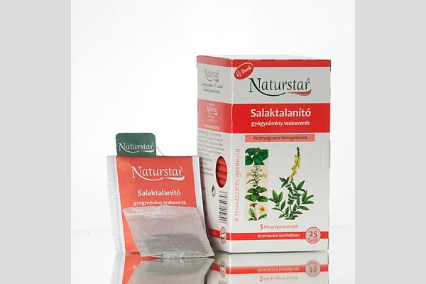 Naturstar - Salaktalanító teakeverék