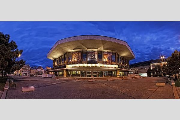 Győri Nemzeti Színház panoráma