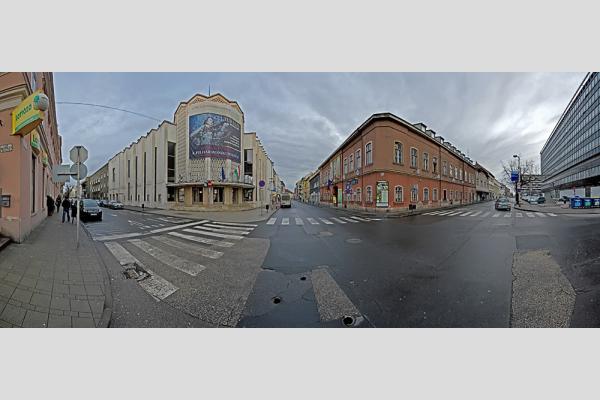 Richter Terem / Gyermekek Háza / Vaskakas Bábszínház - Győr - panoráma (8 photo)