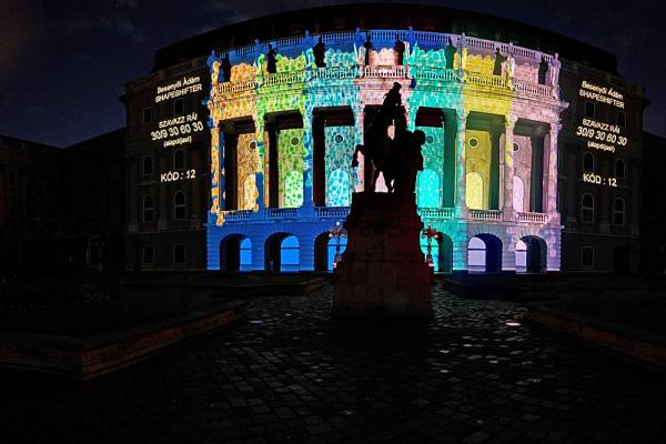Paint Up virtuális-épületfestő verseny - Nemzeti Galéria kicsit másképp panoráma (4 photo)