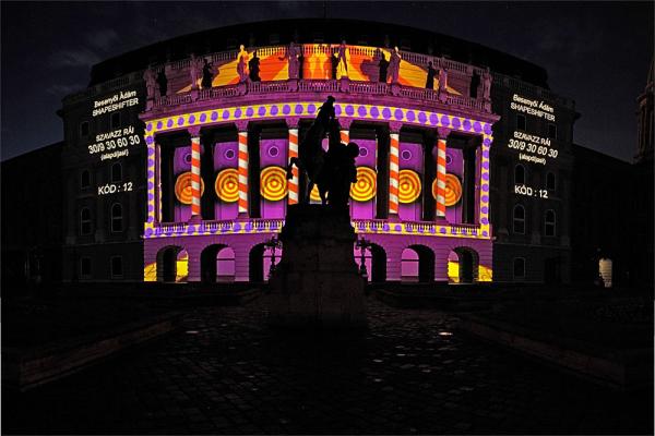 Paint Up virtuális-épületfestő verseny - Nemzeti Galéria kicsit másképp panoráma (3 photo)