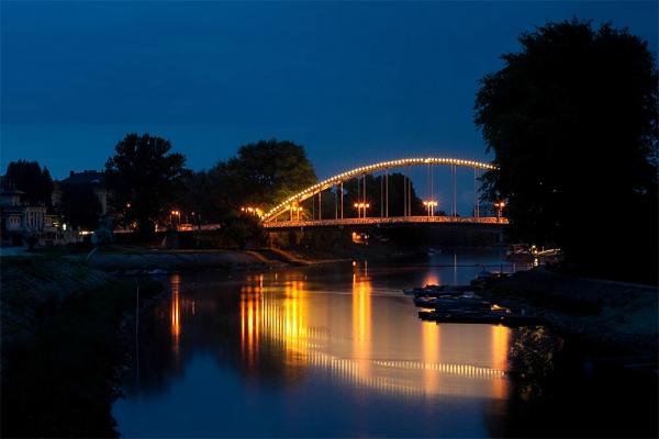 Győr - Kossuth híd panoráma (6 photo)