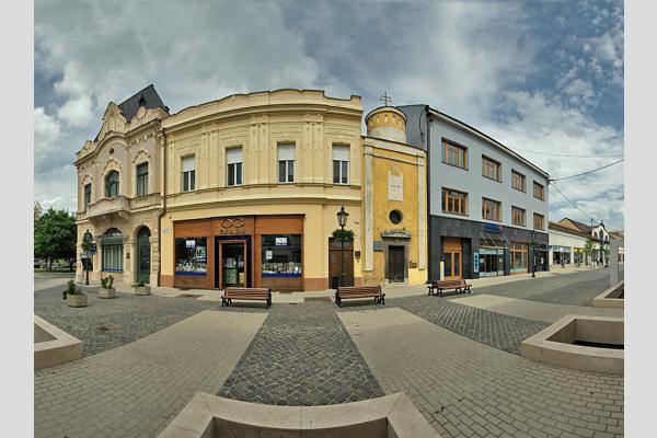 Révkomárom - Nádor utca panoráma (7 photo)