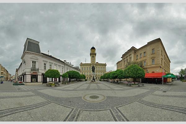 Révkomárom - Klapka tér panoráma (10 photo)