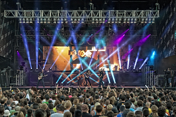 Within Temptation az első napon - Rock - Metal Nagyszínpad