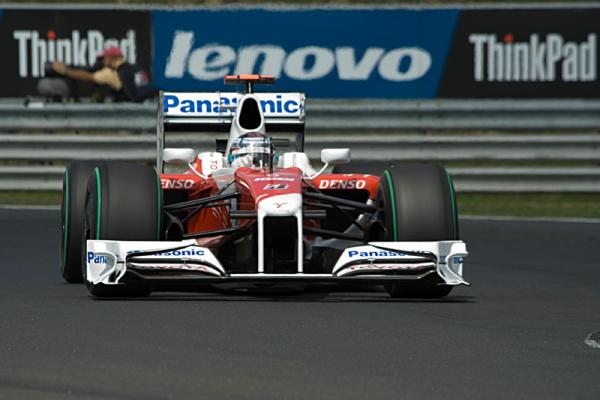 Jarno Trulli - Panasonic Toyota Racing