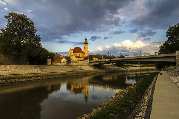 Győr Bécsikapu tér Karmelita templom