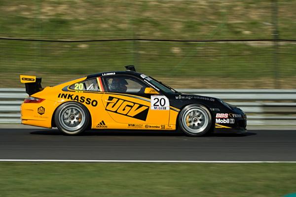 Porsche Mobil 1 Szuperkupa szabadedzés