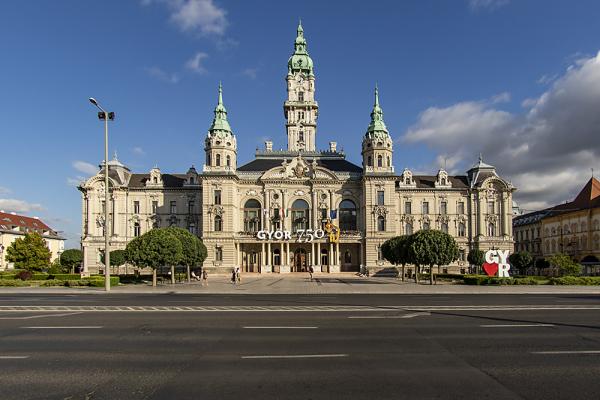Győri városháza Dézsi Csaba András