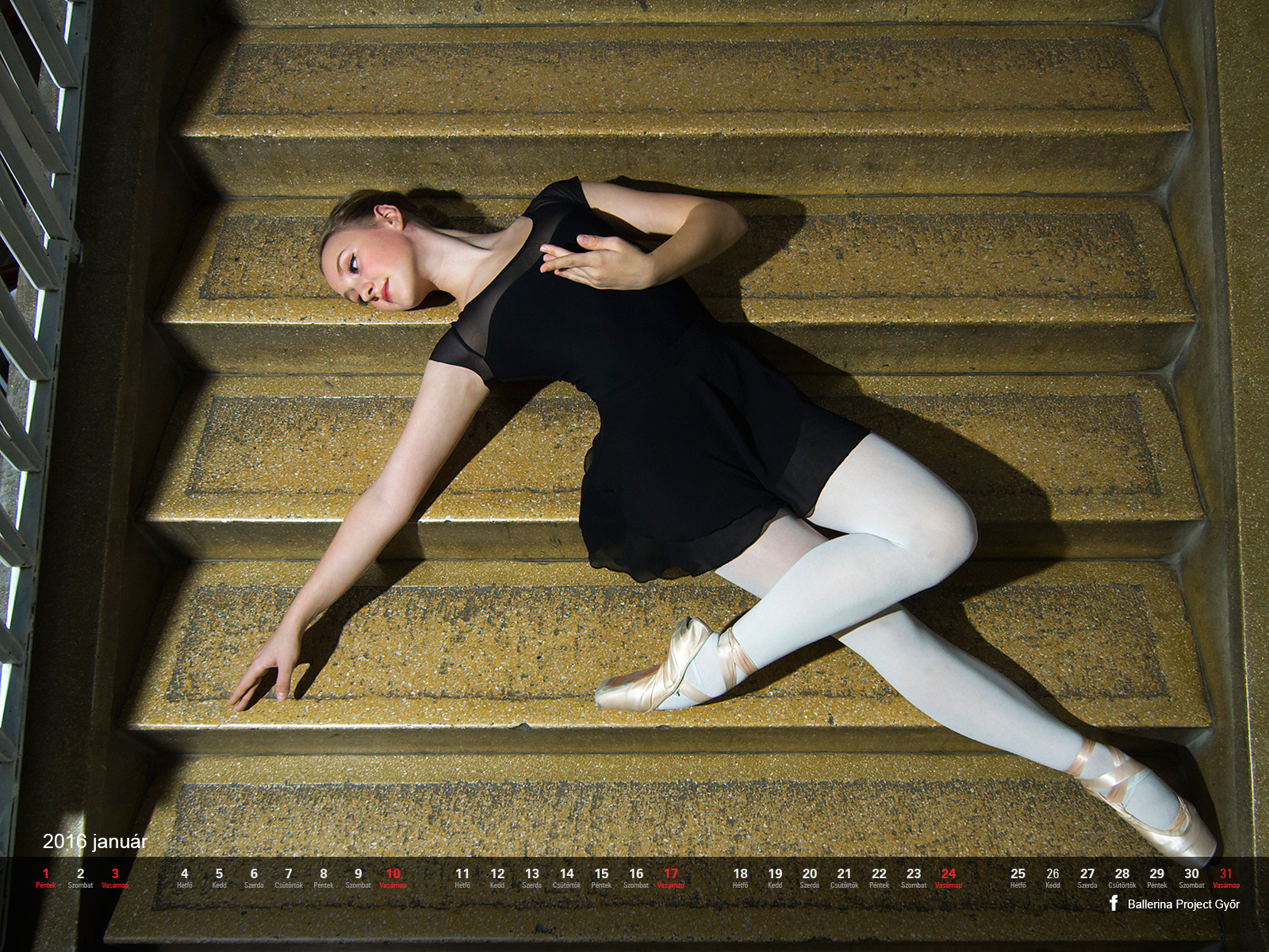 Ballerina Project Győr naptár 2015. december