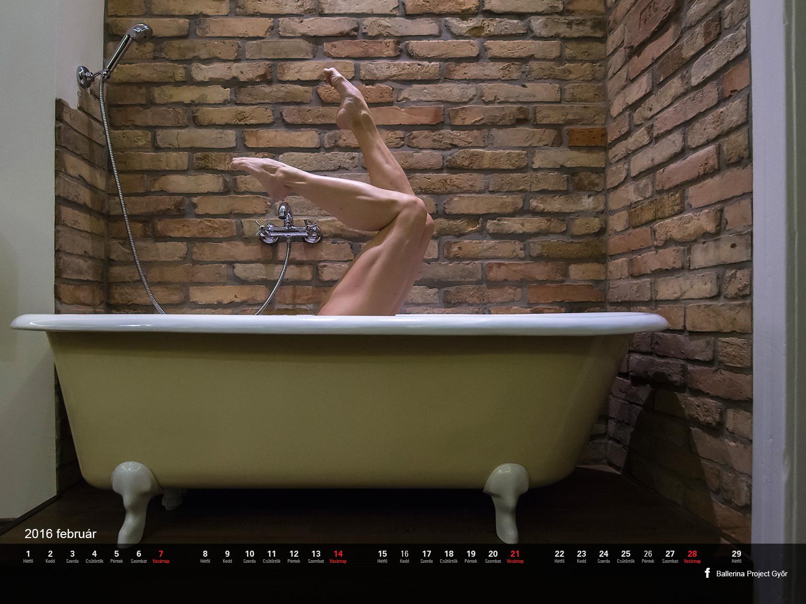 Ballerina Project Győr naptár 2016. február