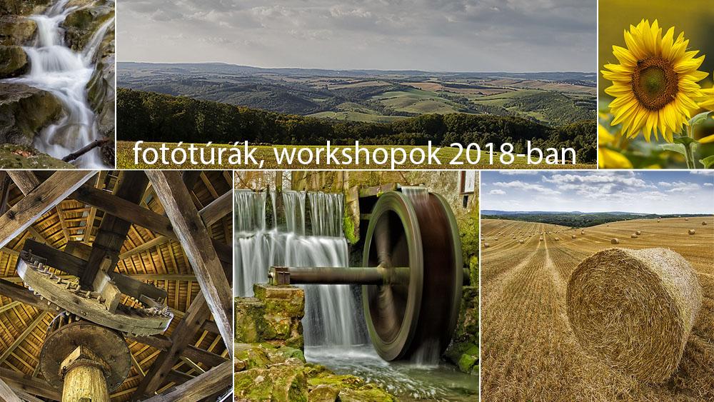 fotótanfolyamok, fotótúrák, worshopok Győrben